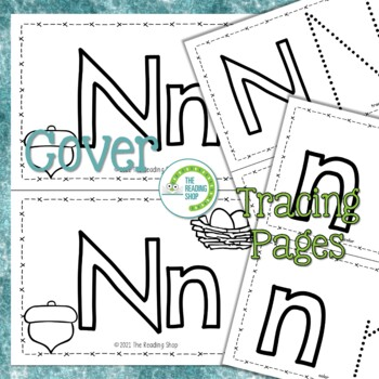 Letter N Alphabet Book - Helps Students Learn Letters and Sounds - ABC Book