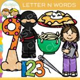 Letter N Alphabet Clip Art