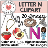 Letter N Alphabet Clipart by Clipart That Cares