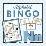 Letter N Bingo Game