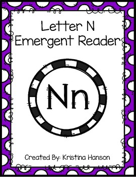 Letter N Book