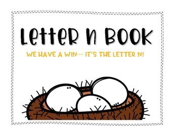 Letter N Book: Handwriting Practice