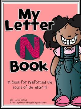 Letter N Book of Beginning Sounds-Emergent Reader w/Running Record-CCSS Aligned