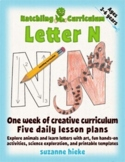 Letter N Bundle: 1 Week Of Complete Curriculum Lessons