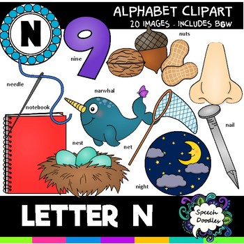Letter N Clipart - 20 images! For Commercial and Personal Use