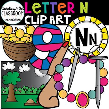 Letter N Clipart {Alphabet Clip art}