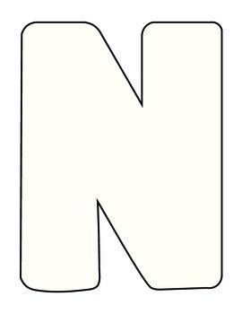Letter N Craft
