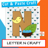 Letter N Craft (N is for Nest)