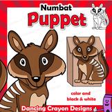 Letter N Craft Activity | Paper Bag Puppet Numbat