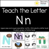 Letter N Craft and Writing Practice