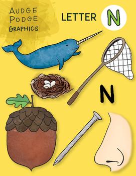 Letter N Graphics
