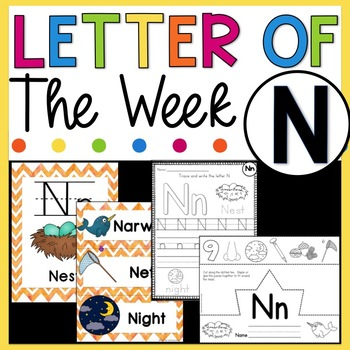 Letter N - Letter of the Week N - Letter of the Day N