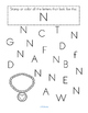 Alphabet N Letter of the Week Phonics Recognition, Sound, Tracing & Craftivities