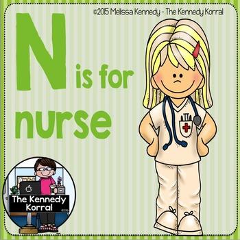 Letter N is for Nurse