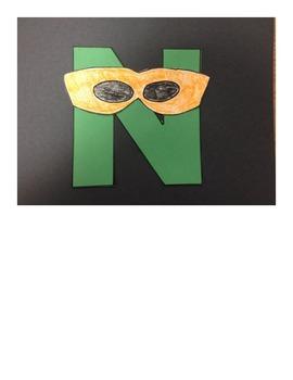 Letter N Ninja Project