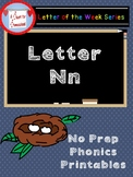Letter N No Prep Printables