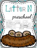 Letter N Preschool