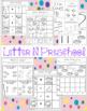 Letter N Preschool Printables