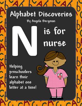 letter n preschool unit by preschool discoveries tpt