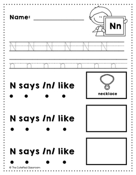 Letter N Review