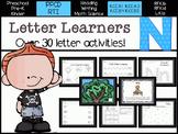 Letter Learners: Letter N