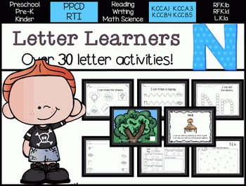 Letter Learners: Letter N