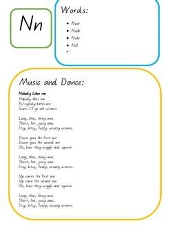 Letter N Unit Plan- Literacy