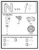 Letter N from the Alphabet Mega Bundle/Letter of the Week