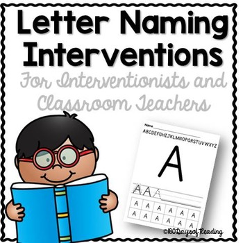 Letter Naming Interventions