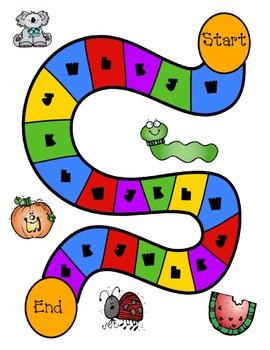 Letter Name L, K, J, W Word Sort #4 Game