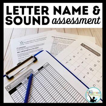 Letter Name Letter Sound Assessment