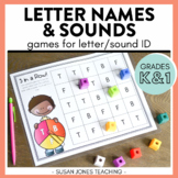 Letter Name & Letter Sound Games