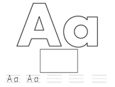 Letter Name-Letter Sound Practice
