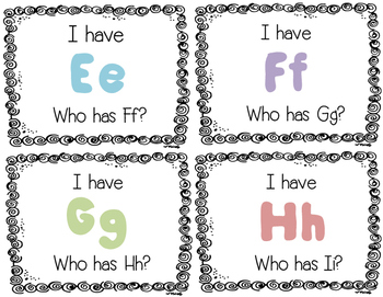 Letter Name Recognition Game