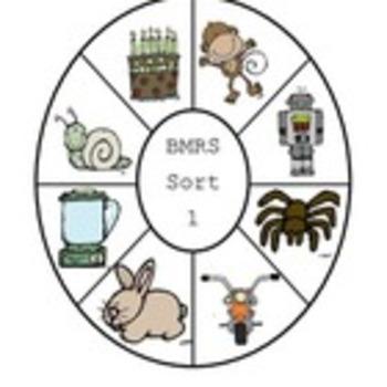 Letter Name Wheel Bundle-Sorts 1-4