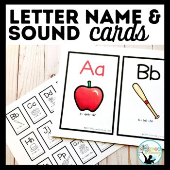 Letter Name and Sound Cards