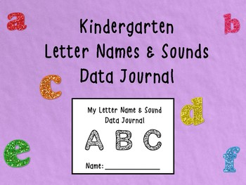 Letter Name and Sound Data Journal