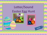 Letter Name and Sound Egg Hunt