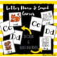 Letter Name and Sound Flashcard Games