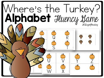 Thanksgiving Activity for Letters
