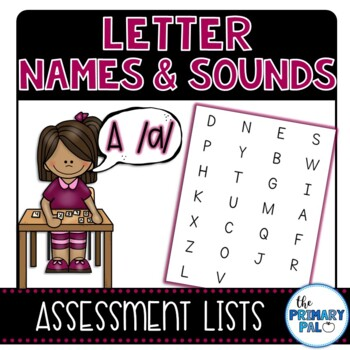 Letter Names & Sounds Assessment Lists