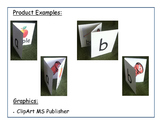 Letter Names and Letter Sounds Foldable