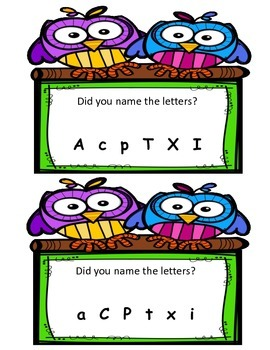 Letter Naming Door SIgns