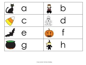 Letter Naming Fluency Game
