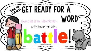 Letter Naming Fluency Battle!!