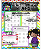 Letter Naming Fluency Differentiated Practice Sheets