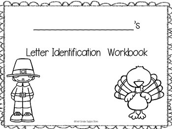 Letter Naming Fluency Game, Workbook & Student Data Recording Sheets