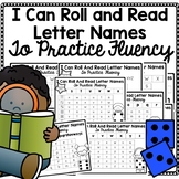 Letter Naming Fluency Practice for Kindergarten or First Grade
