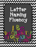 Letter Naming Fluency Practice for a YEAR!