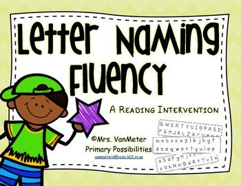 Letter Naming Fluency (Reading Intervention)